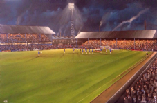 Chaddy End, Boundary Park, Oldham Athletic A3  poster print